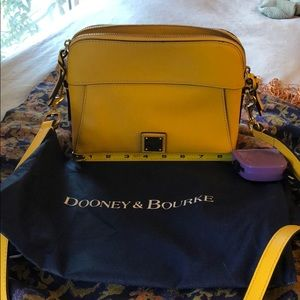 Dooney & Bourke yellow crossbody